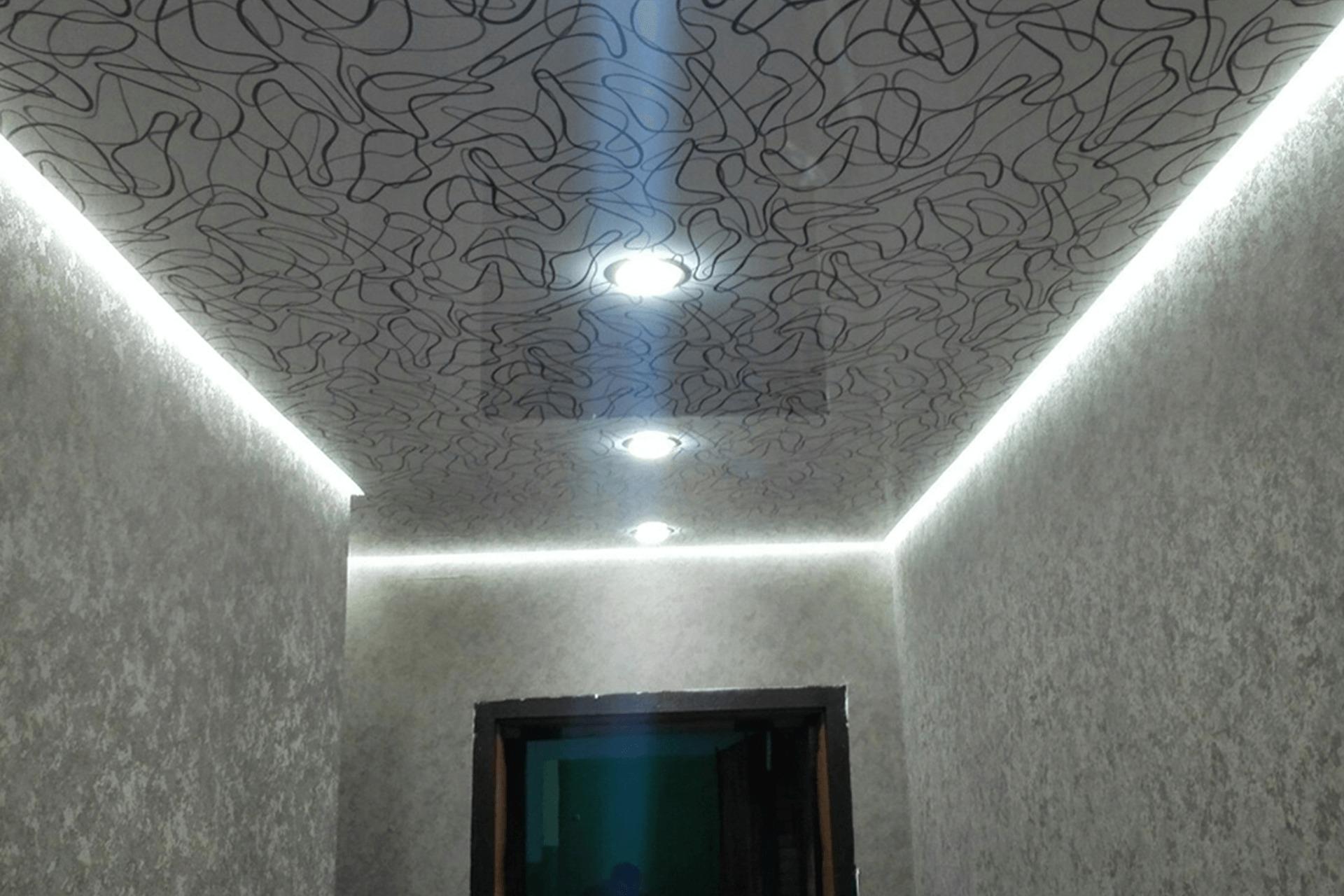 Фото - Как выглядит парящий натяжной потолок