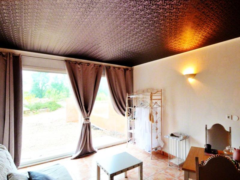 Фото - Тканевые натяжные потолки