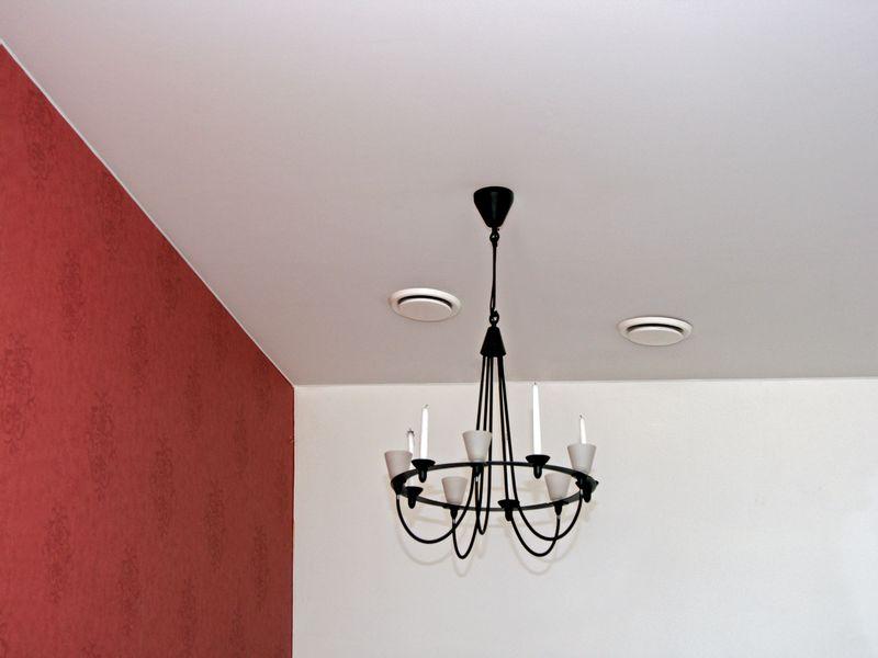 Фото - Тканевый натяжной потолок «Черутти»