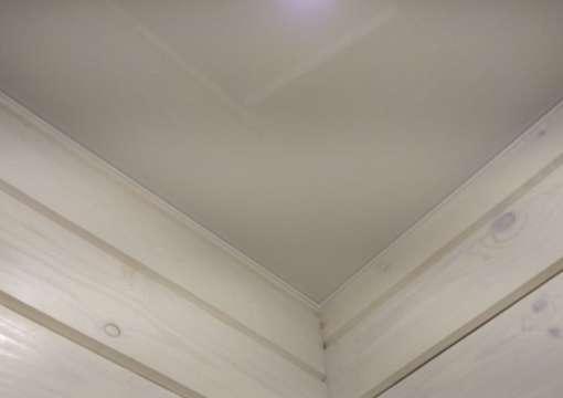 Фото 25 – Правильный монтаж натяжного потолка в углах